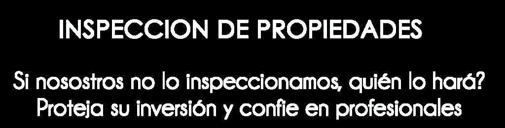 titulo inspeccion de viveindas
