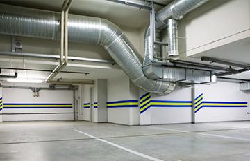 proyecto de ventilacion de parkings alicante